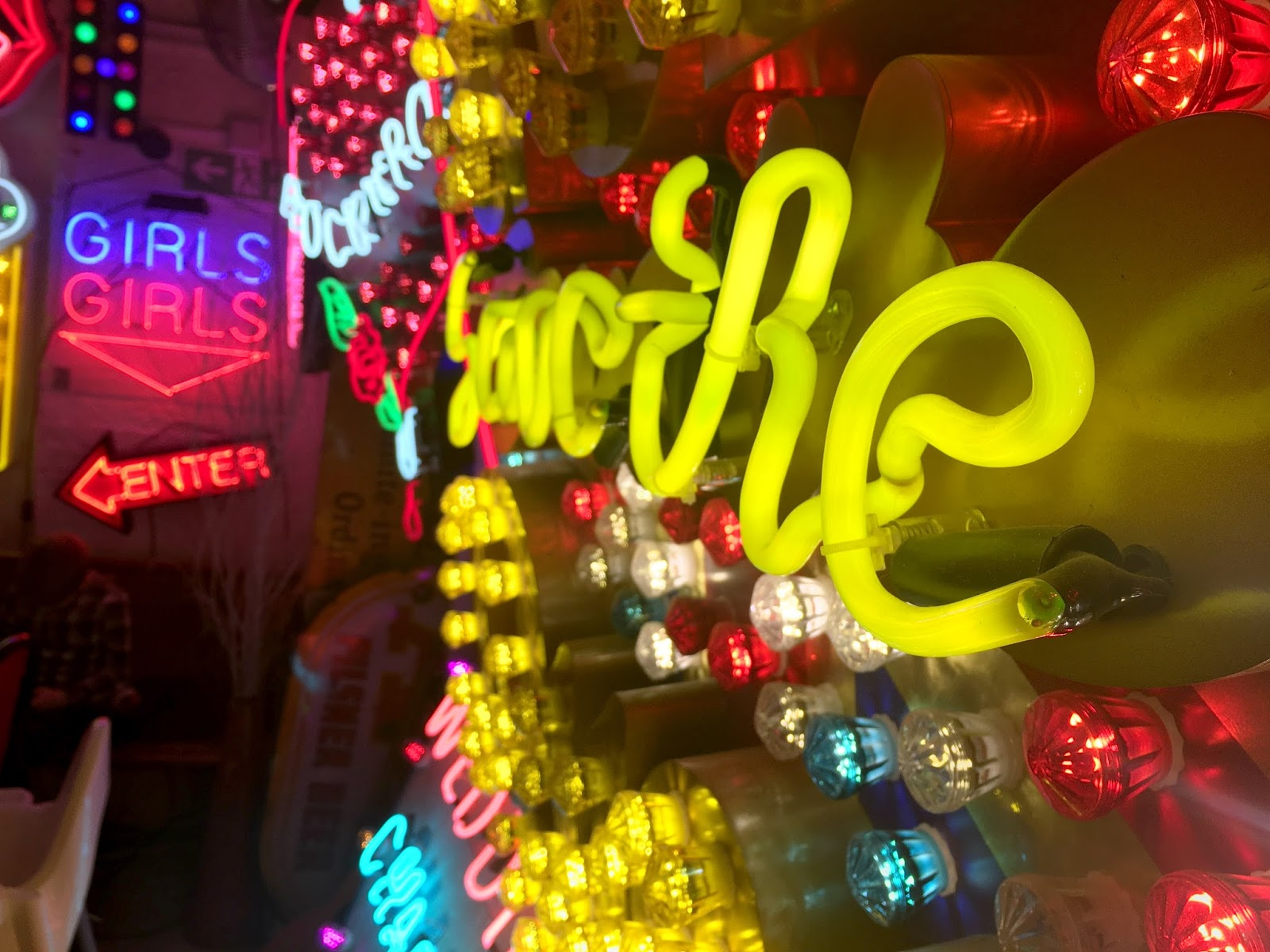 Neon Paradise A Visit to Gods Own Junkyard Just Morgs