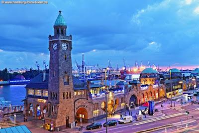 Blue Port Hafen Hamburg, Landungsbrücken