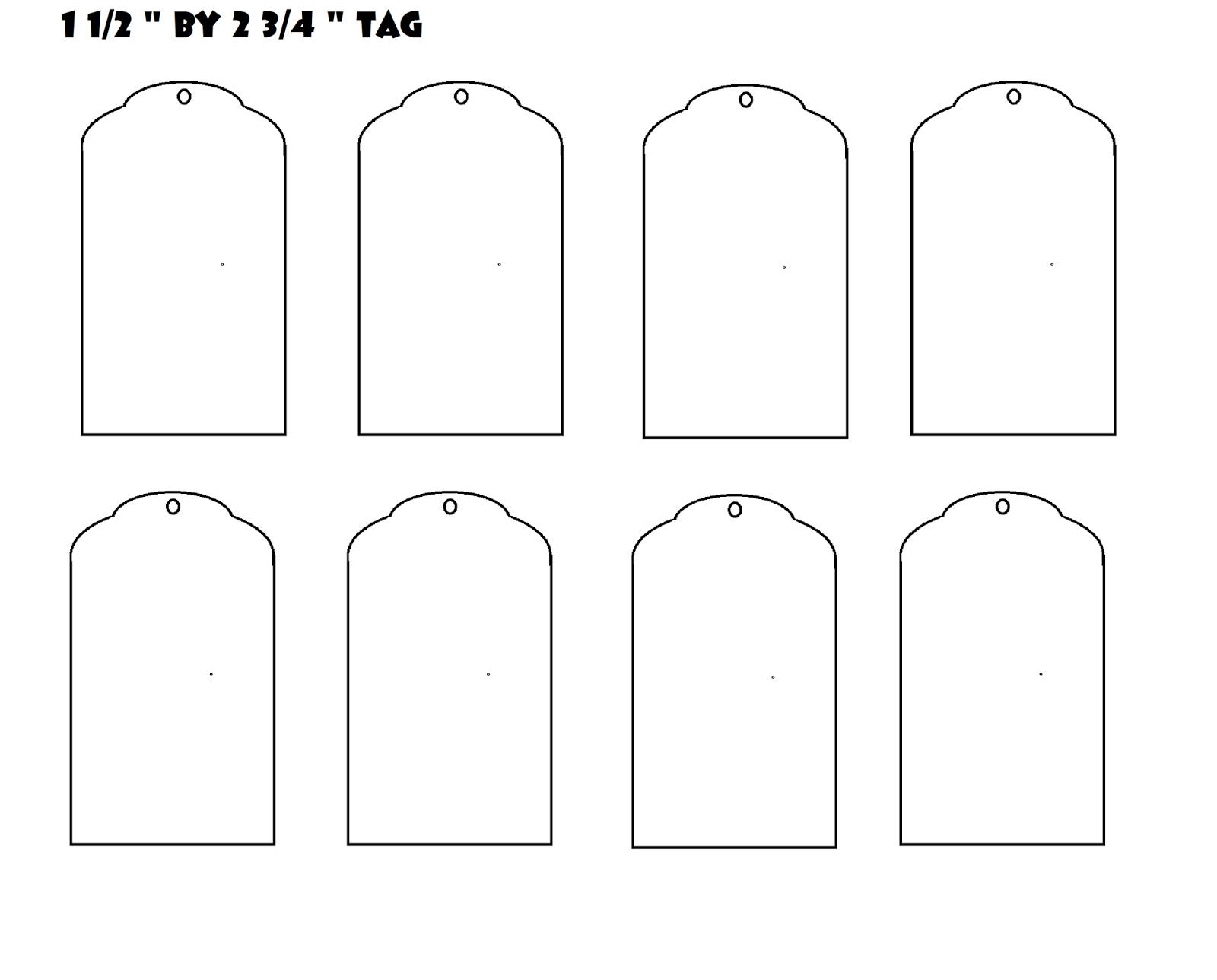 Glenda S World Sheets Of Blank Tags