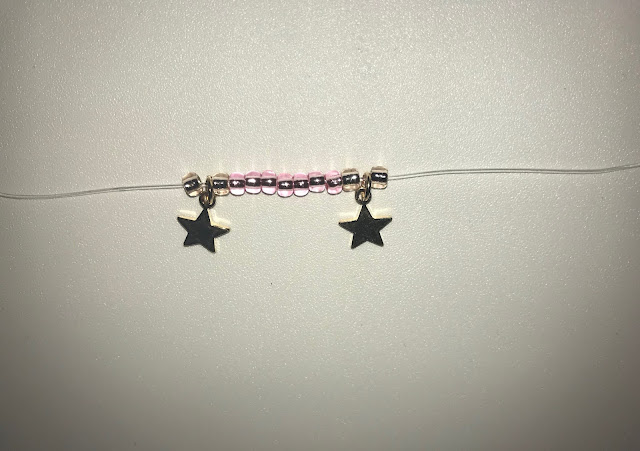 DIY Birthstone Bracelet step 2