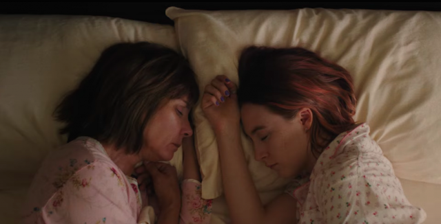 Lady Bird Screencaps Greta Gerwig Saoirse Ronan