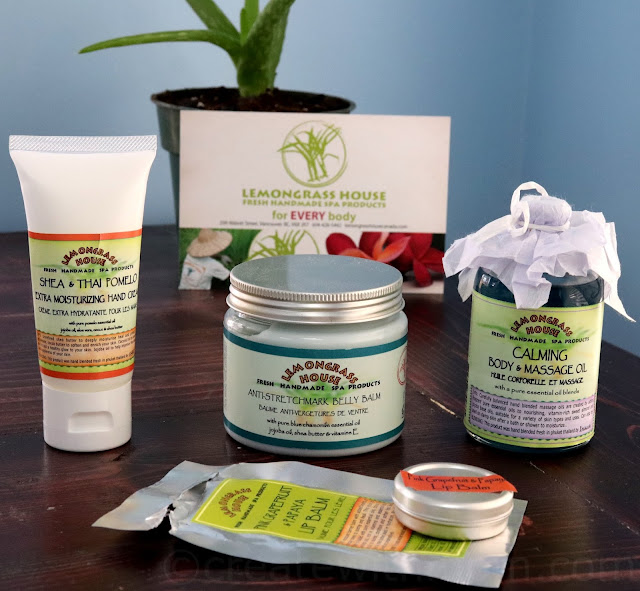 lemongrass house spa products