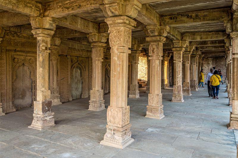 Khilji Mosque - Kirti Durg -  Chanderi