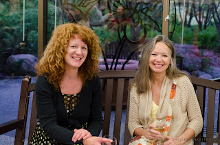 Tracy Hamon, Holly Borgerson Calder - photo by Shelley Banks