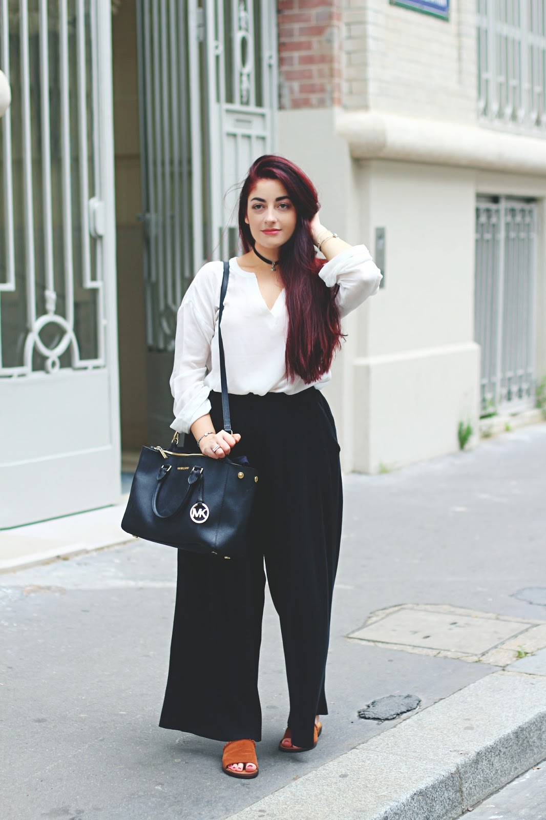 pantalon oversize
