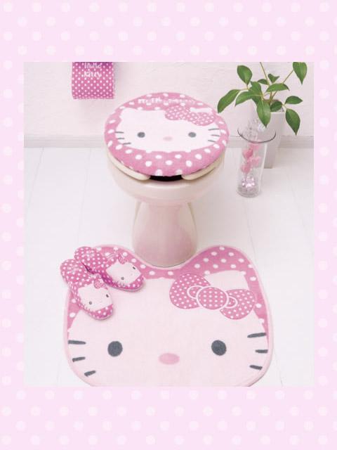 Hello Kitty Bathroom On Pinterest