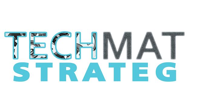 Logo programu strategicznego TECHMATSTRATEG