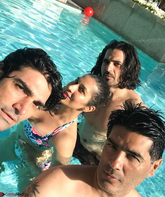 Sophie Choudhary Enjoys New Year 2018 in Bikini with friends  Exclusive Gallery 002.jpg
