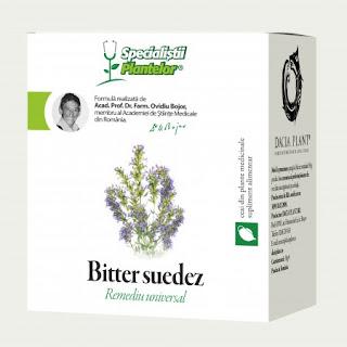Ceai Bitter Suedez Dacia Plant
