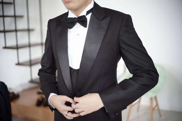 vest tuxedo