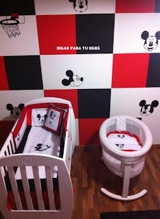 Decoración con edredones mickey /></a></div> <div class=