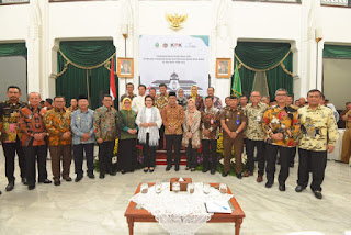 Gubernur Jabar Dan 27 Kepala daerah Teken Kerja Sama Program Penertiban Aset Milik Daerah Bersama BPN