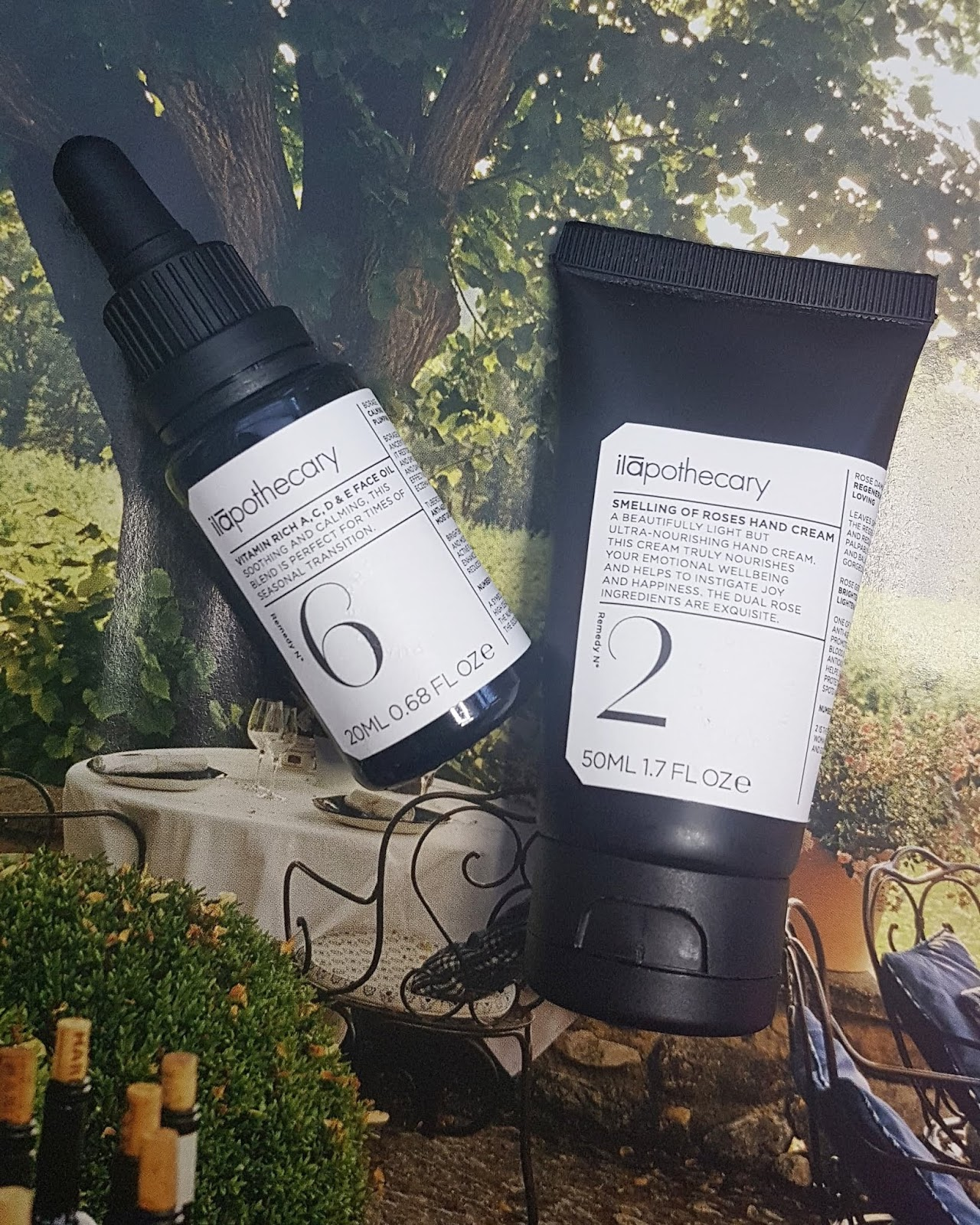 Ilapothecary Hand Cream and Face Oil