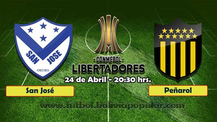 【En Vivo】San José vs. Peñarol - Copa Libertadores 2019