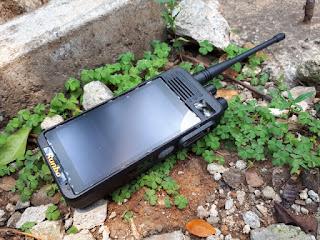 Hape Plus HT Runbo K1 DMR VHF Android 4G LTE RAM 2GB IP67 Certified