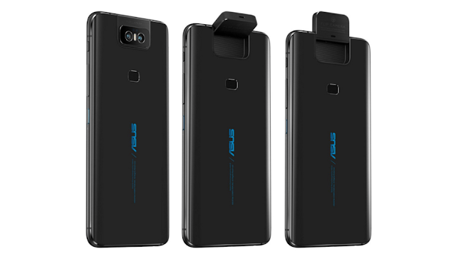 Asus ZenFone 6 has a flip up camera and a giant battery