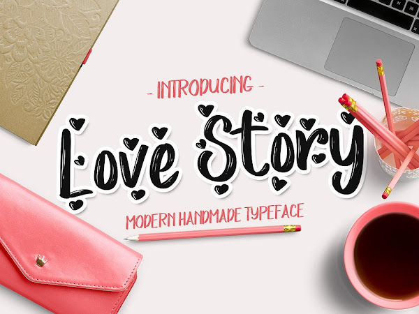 Download Love Story handmade Font Free