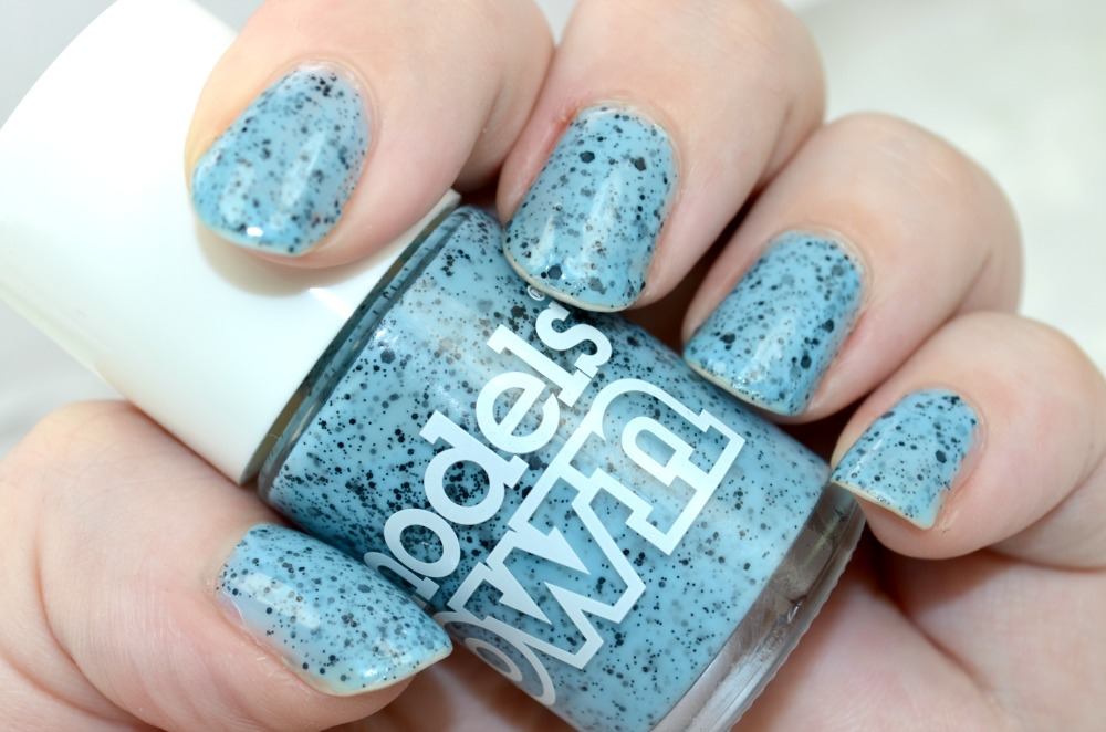 Models Own Speckled Eggs Duck Blue Nail Polish Review / Swatches