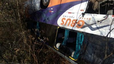No Rio Grande do Norte, ônibus capota e pelo menos 25 estudantes e professores ficam feridos