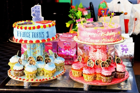 My Yellow Bells Prince 1st Birthday And Micas 7th Birthday Party
