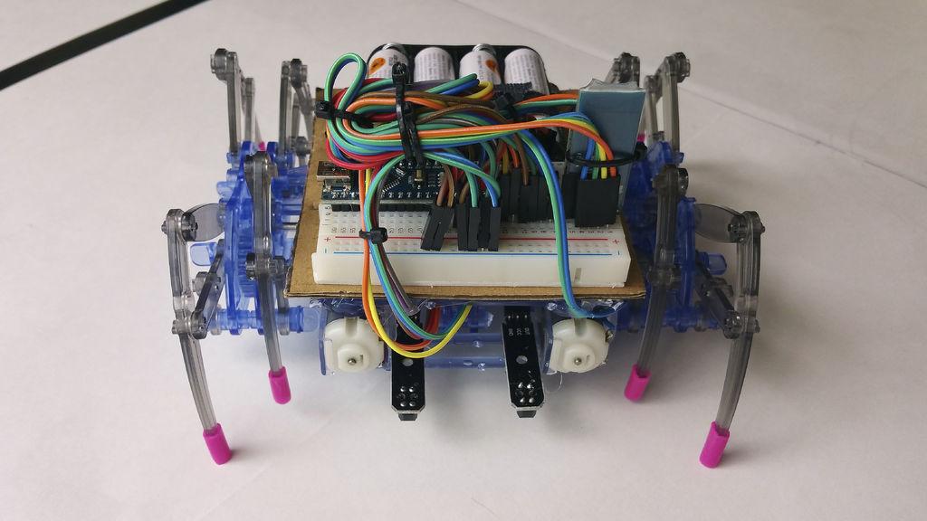 Enhanced spider robot with arduino nano tutorial