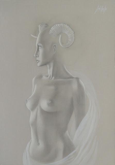 Gregorio Sabillón, arte latinoamericana, dibujo surrealista