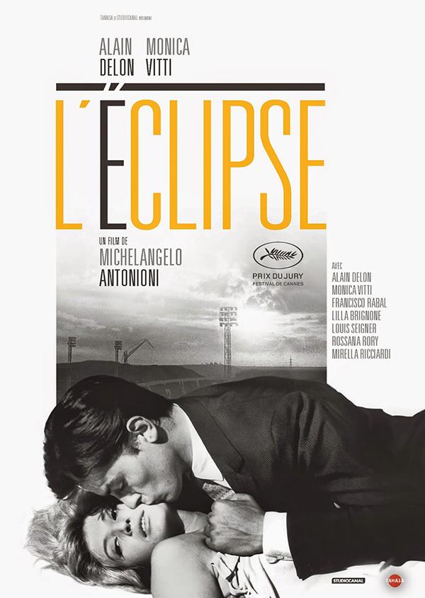 affiche l'éclipse cinéma alain delon monica vitti antonioni blog culture