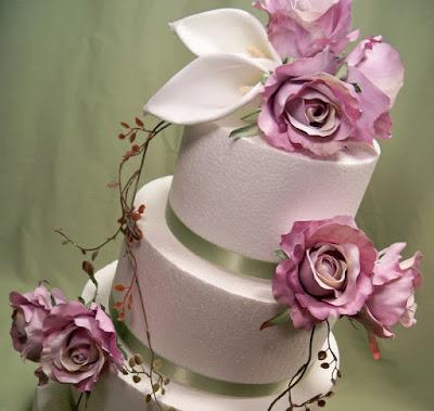 fiori decorativi torta matrimonio