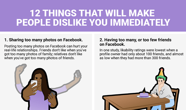 12 things you're doing that make people dislike you immediately