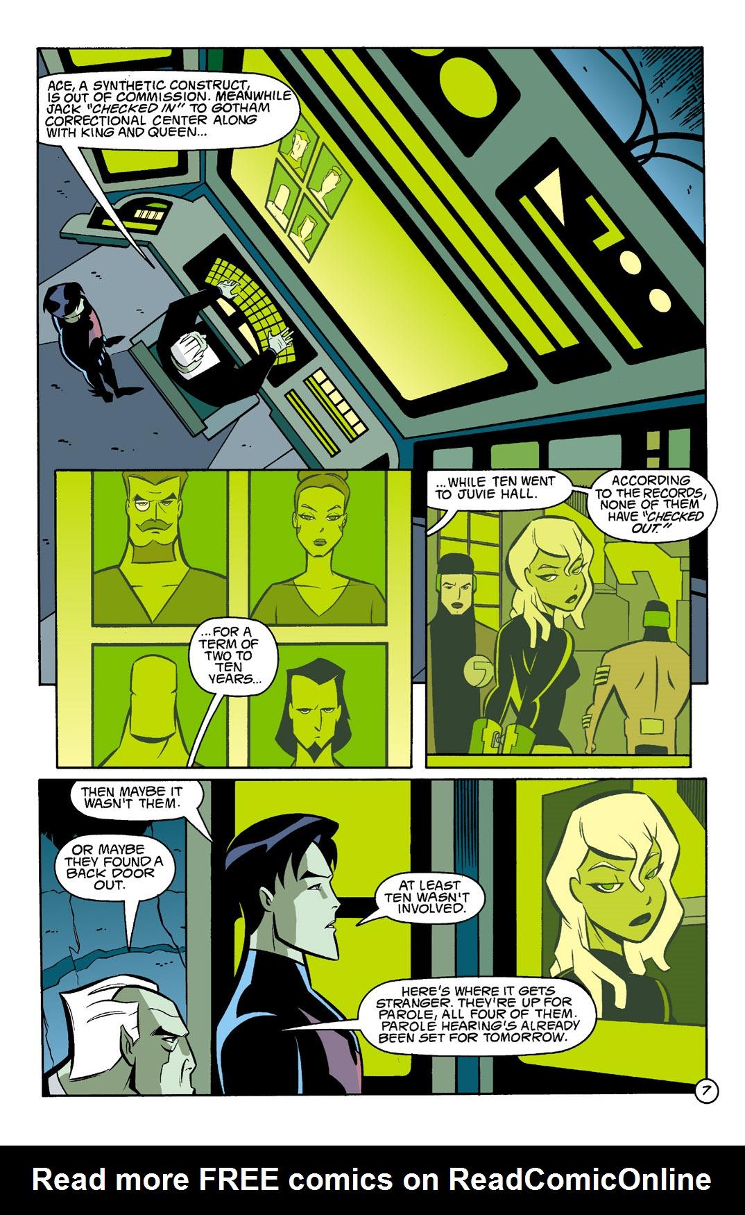 Batman Beyond [II] Issue #4 #4 - English 8