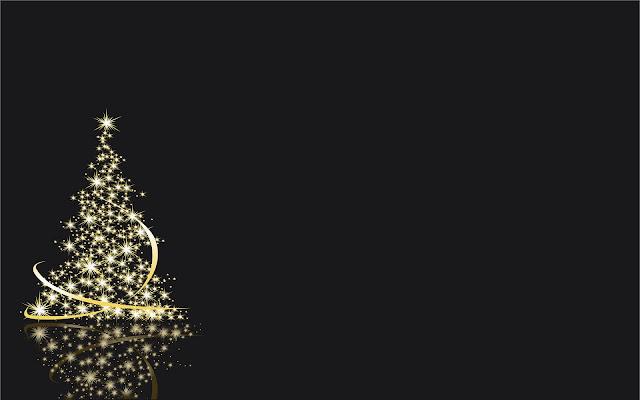 Brandende kerstboom