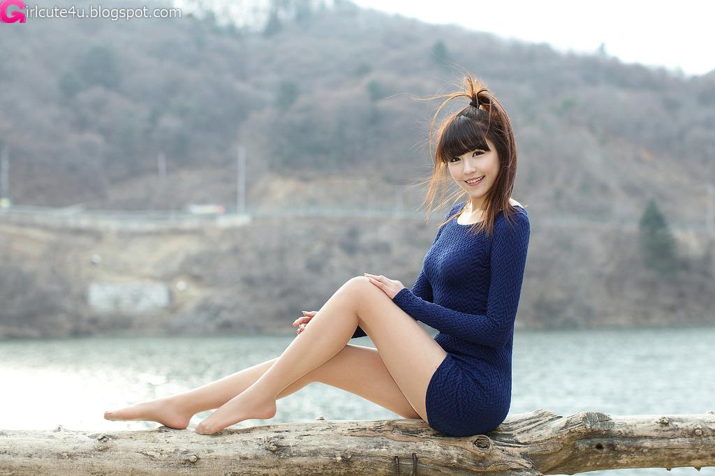 xxx nude girls: Lee Eun Hye in Mini Dress