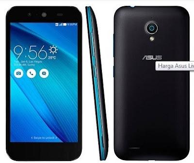 Info Harga HP ( Smart Phone ) Asus Live G500TG 2016 Dilengkapi Dengan Quad-core dan RAM 2 GB Ter Up to date