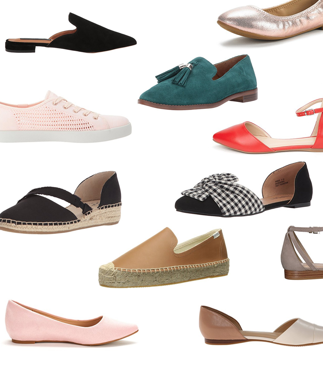 Women's Flats Under $100 For Spring 2018 :: Effortlessly with Roxy