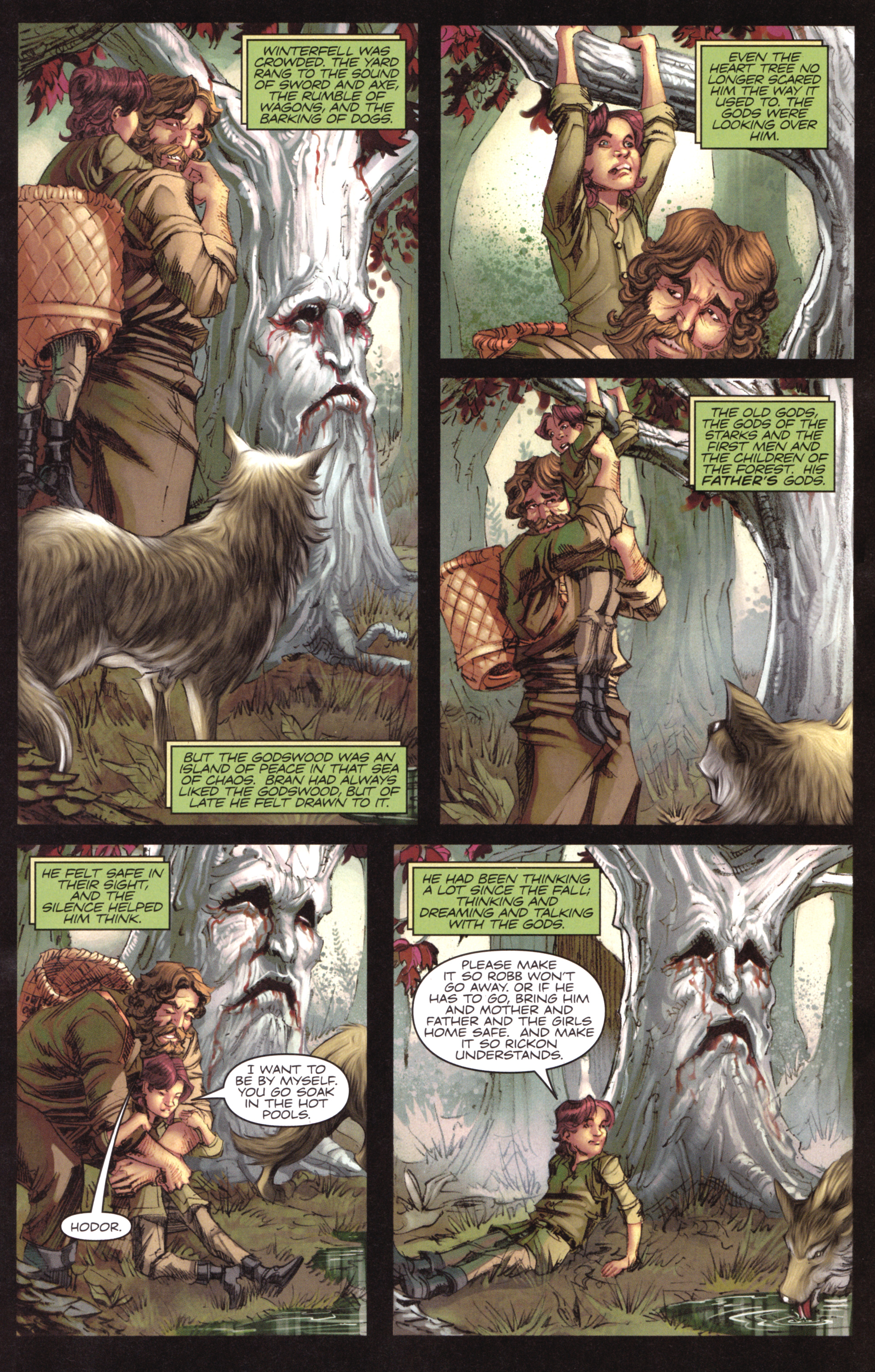 Read online A Game Of Thrones comic -  Issue #17 - 17