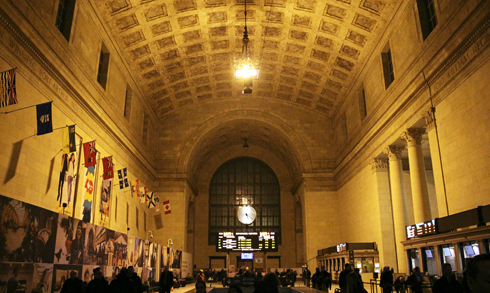 Union Station Toronto Ontario VIA Rail