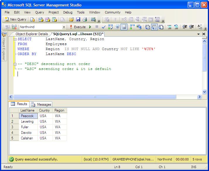 Examples: column aliases mssql tutorial.