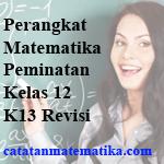 Perangkat Pembelajaran Matematika Kelas 12 K13 Revisi