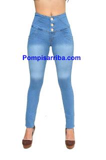 Jeans levanta pompa levanta colita tiendas de fábrica pantalon corte colombiano