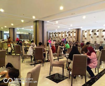 Sarapan Pagi di hotel Grand Karlita Purwokerto