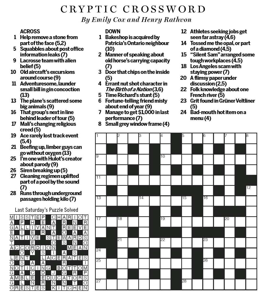 Cryptic Quiz Worksheet C 38