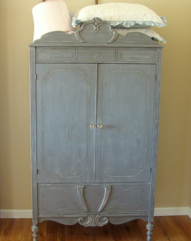 The Decorating Diaries Old World Shabby Chic Wardrobe