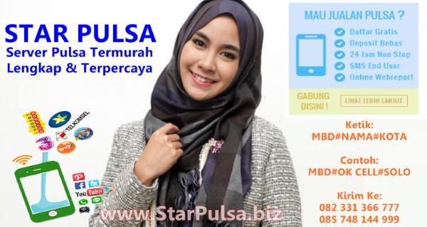 StarPulsa.net Web Resmi Star Pulsa Harsono CV CMS Termurah