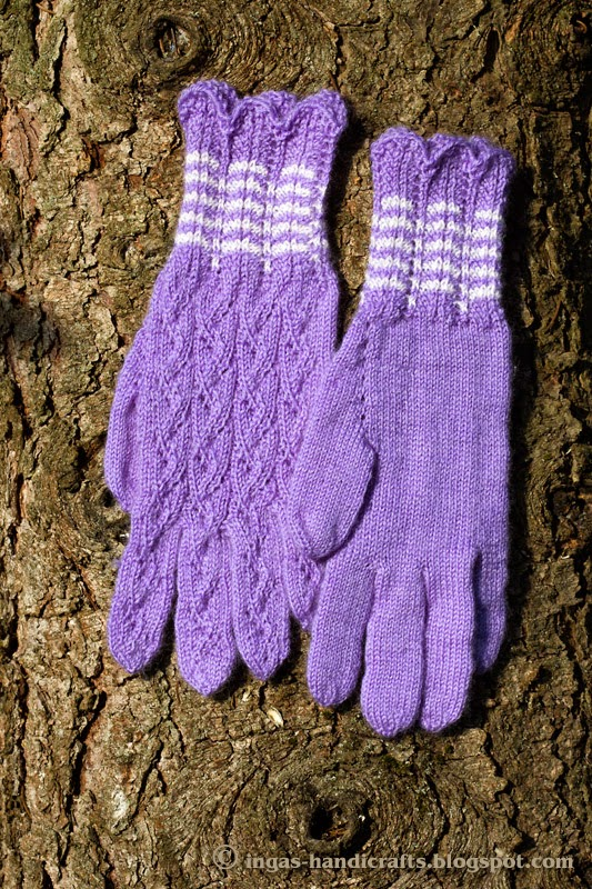 Pitsilised sõrmkindad / Lace Gloves