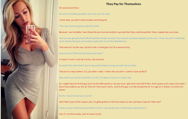 Feminization Beauty Within: TG Captions & Stories: They ...