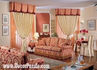 french style curtains for living room 2018 , french country curtains