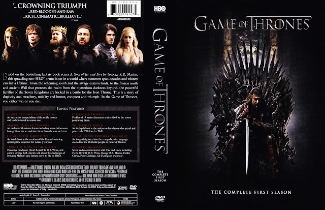 Game Of Thrones Season 1 DVD Cover