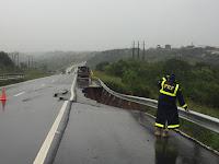 Chuvas causam rompimentos e alagamentos em BRs da PB
