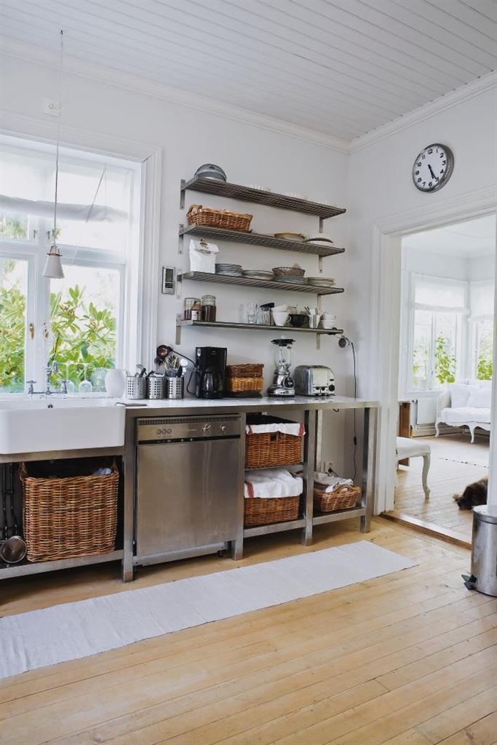 Stainless Steel Shelving Kitchen Sink Storage