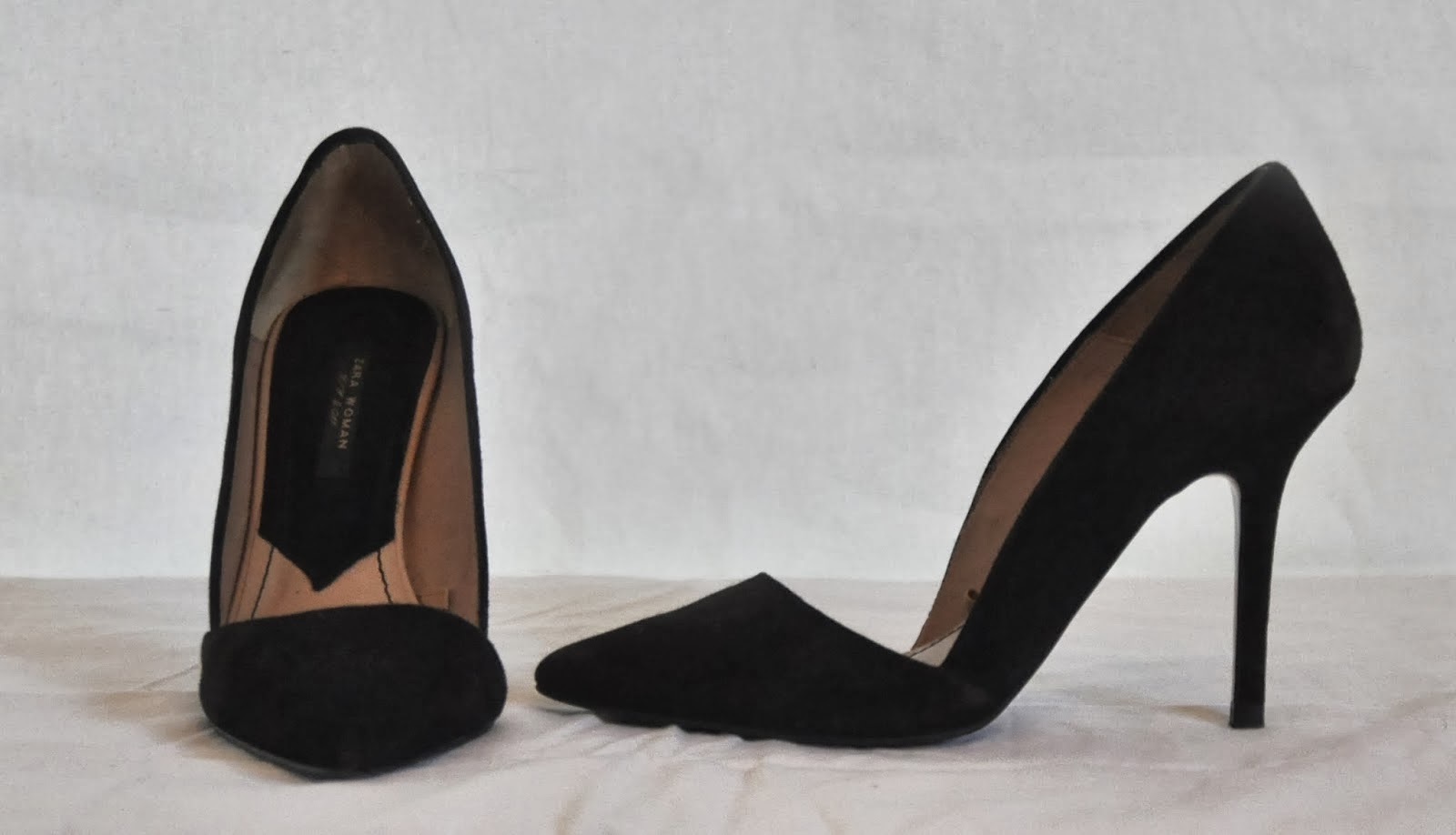 4701b905d3f TNT  ZARA Asymmetric court pointed toes shoe
